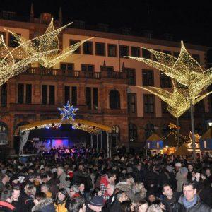 Christmas-Klassiker auf dem Sternschnuppenmarkt Wiesbaden