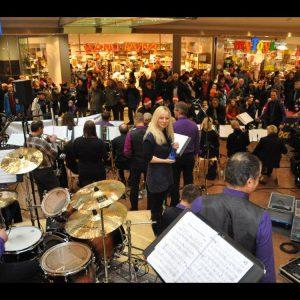 Hinterland Jazz Orchestra im City-Point Einkaufscenter Kassel